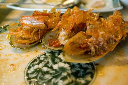 ... these prawns were goooood.