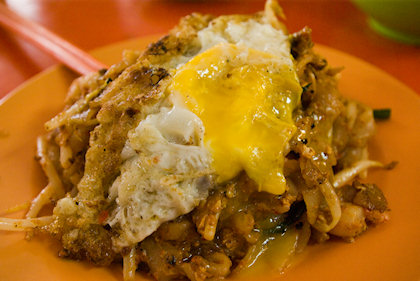 ... my favourite fried kuey teow of all time, despite it was halal.