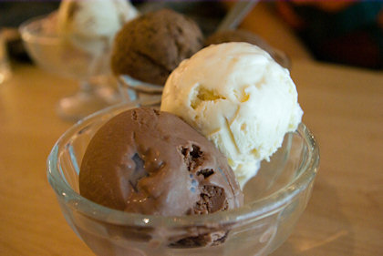 ... Macadamia nuts and Chocolate chips ice-cream.