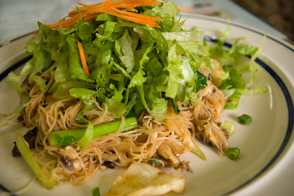 ... DC's Thai style fried vermicelli.