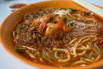 ... probably the best prawn mee I've had in KV. Not that I've tried all, but best thus far.
